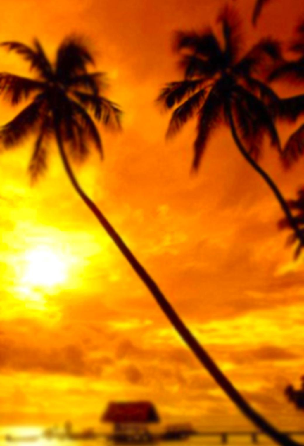 夕焼けの海 24 Iphone壁紙 すべて1136 X 640pxサイズ