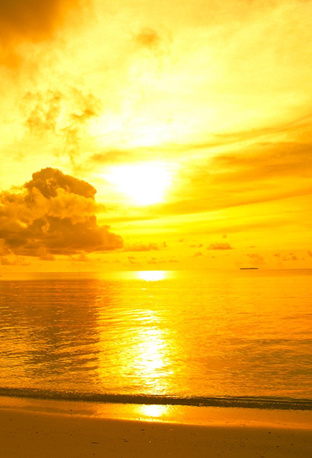 黄昏色の海 40 Iphone壁紙 すべて1136 X 640pxサイズ